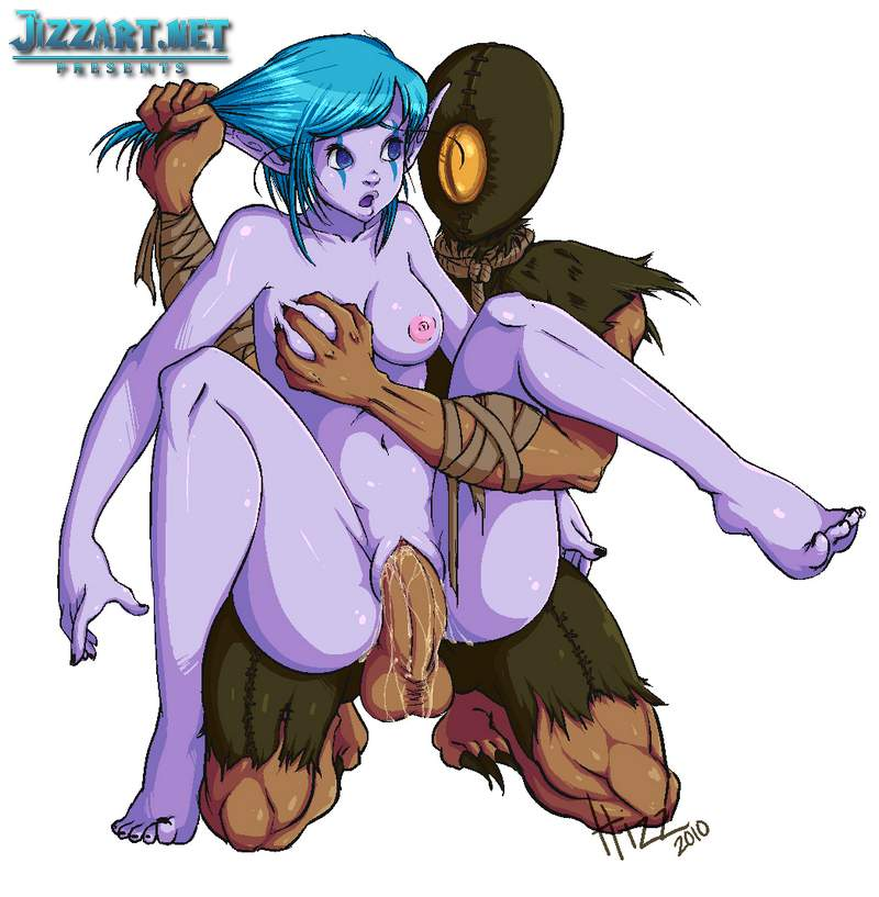World of Warcraft softcore nude picture
