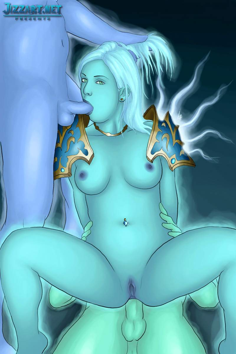 Sexy looking blood elf death knight