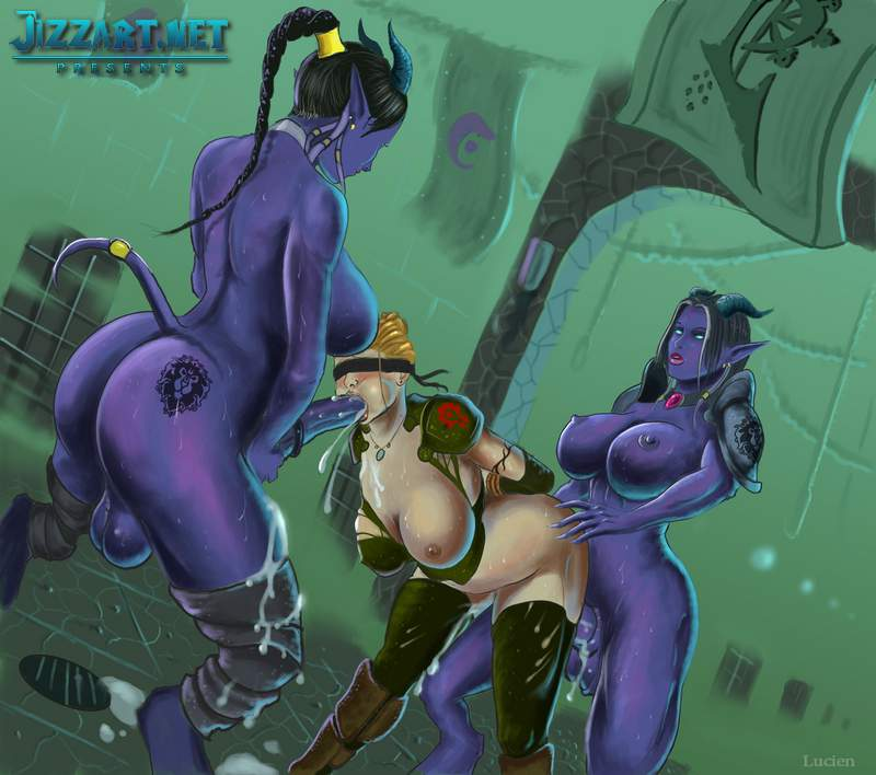 World of Warcraft night elf 3d porn