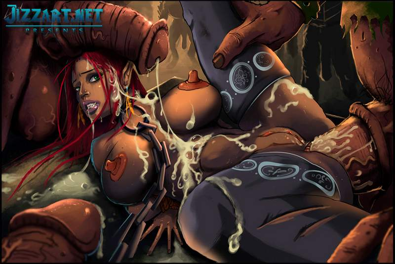 Alexstrasza and the seven dwarfs porn video