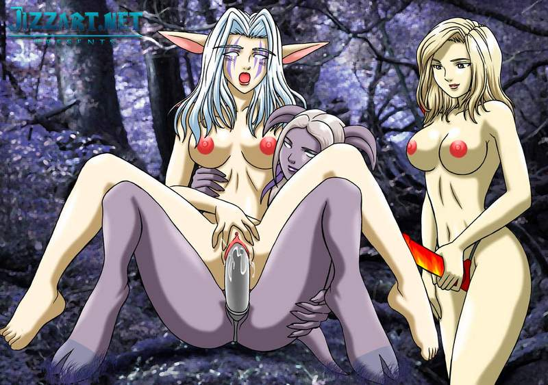 Elves nude World of Porncraft