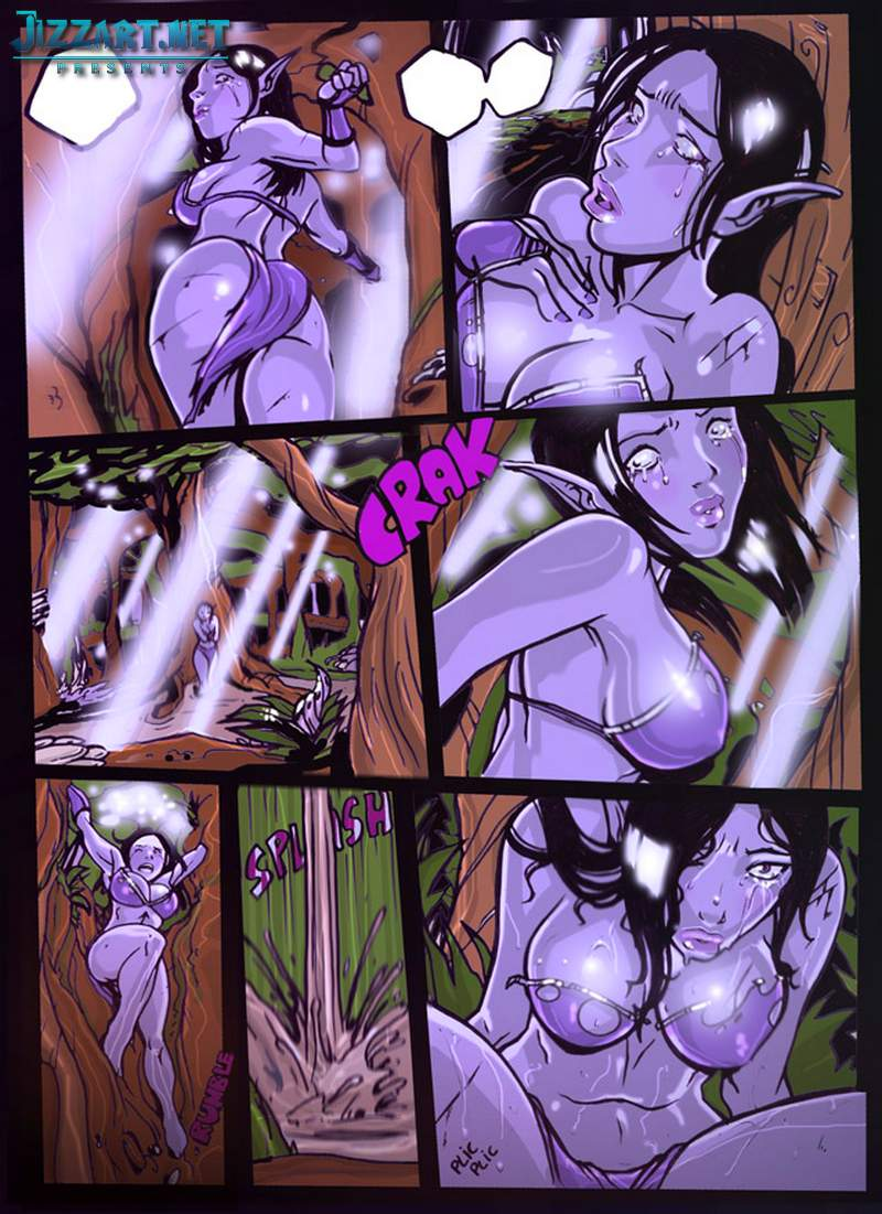 Night elves porn art porncraft comics
