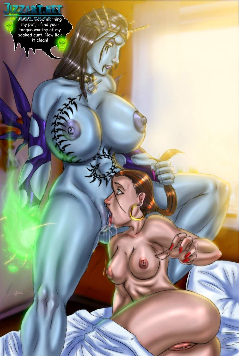 Blood elf and drenei nude patch anime photo