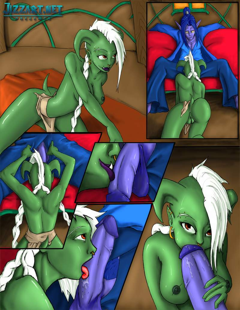 Monster fucked World of Warcraft girl pornos videos