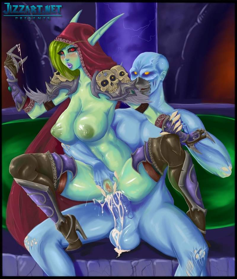 WoW orc banging an elf princess 2