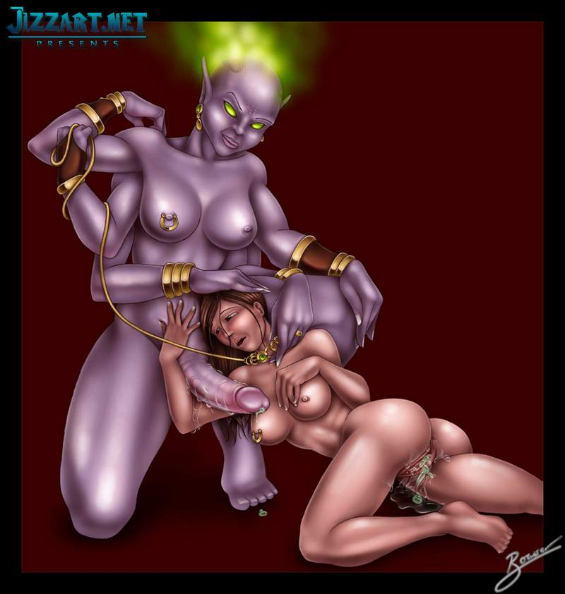 Nude female vampires