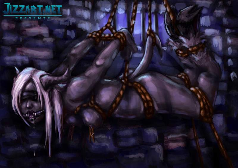 Sylvanas Windrunner naked in monster