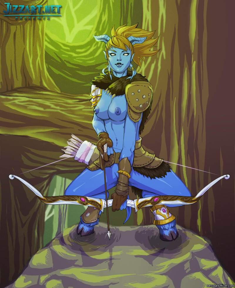 World of Warcraft hentai draenei
