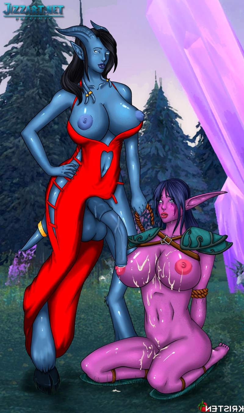 Nude pic of night elf naked scene
