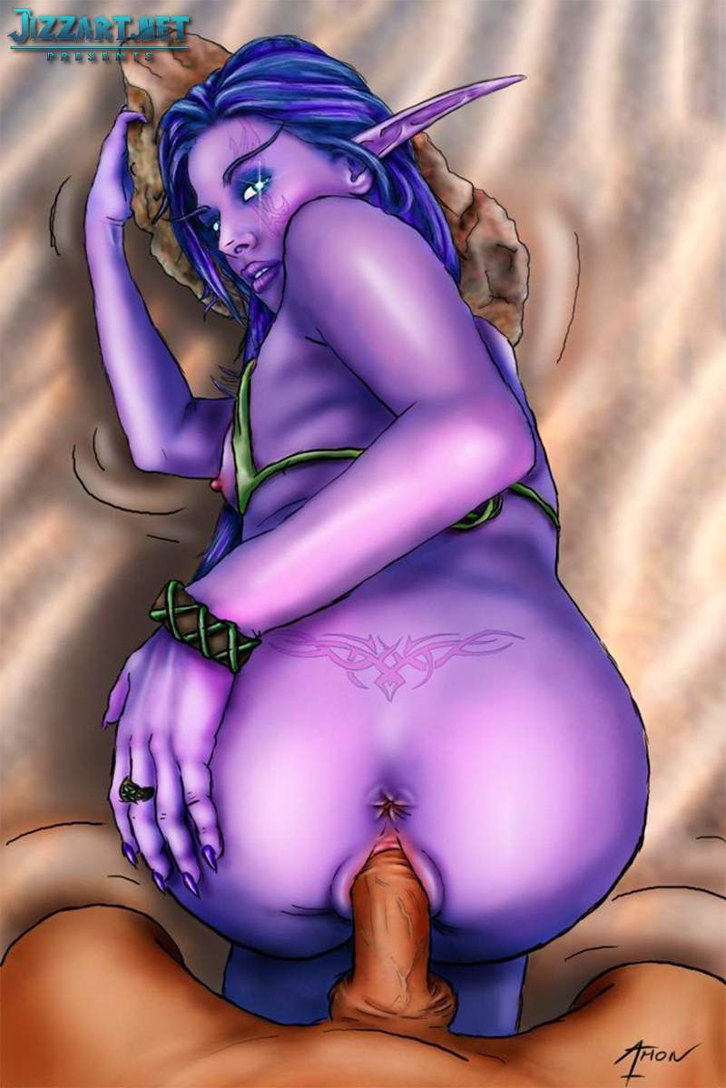3d World of Warcraft porn addons