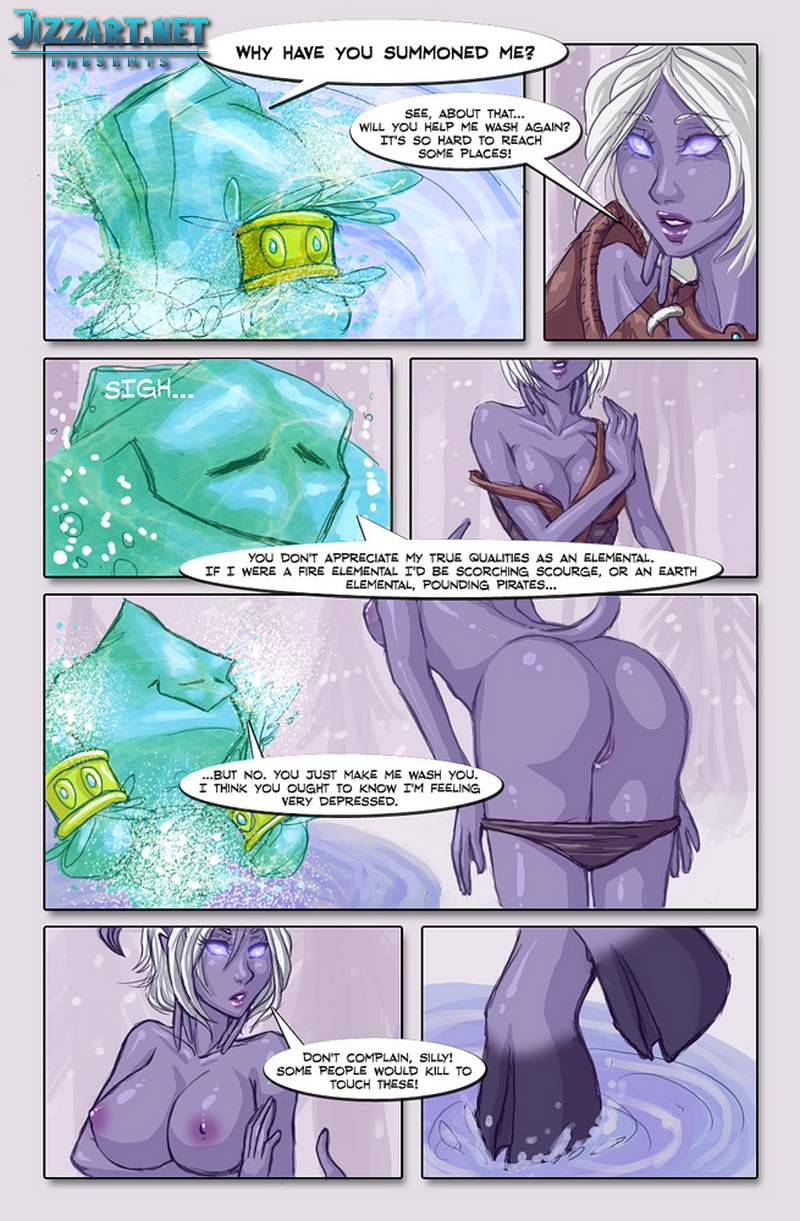 Hot World of Warcraft draenei hentai