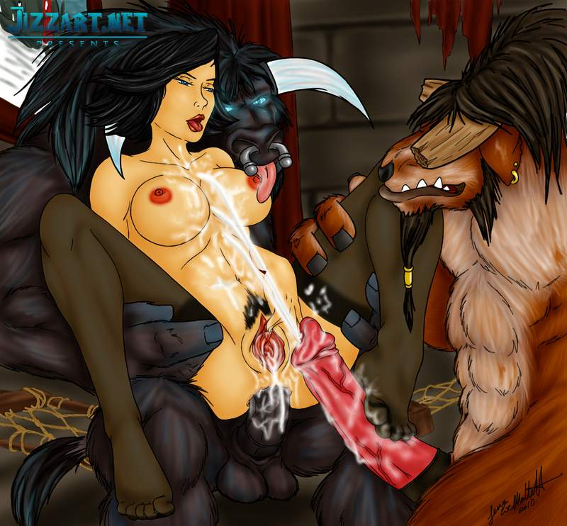 Warcraft hentai human demon