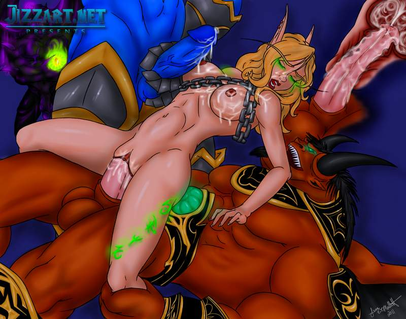 Erotic drawing elf