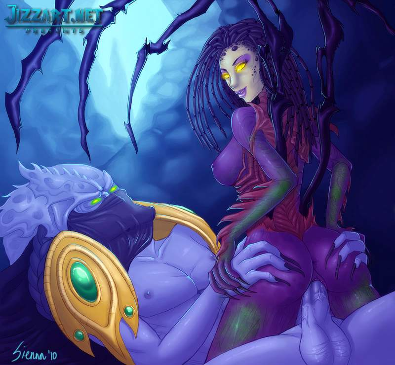 Night elf blood elf sexy art