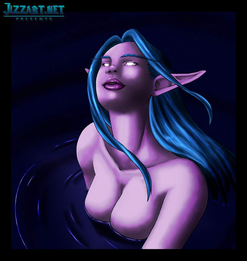 Sexy night elf girls