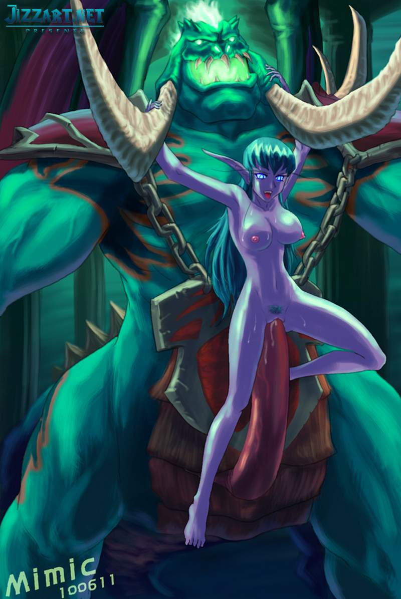 Elven princess monster abuse
