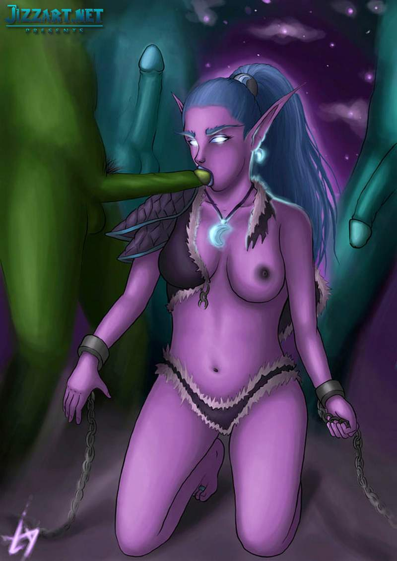 3d Lady Sylvanas Jaina Proudmoore virtual sex movies