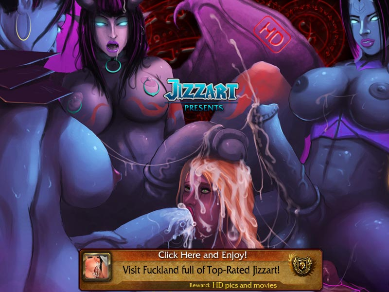 Warcraft naked art