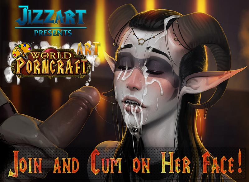 WoW naked draenei girl