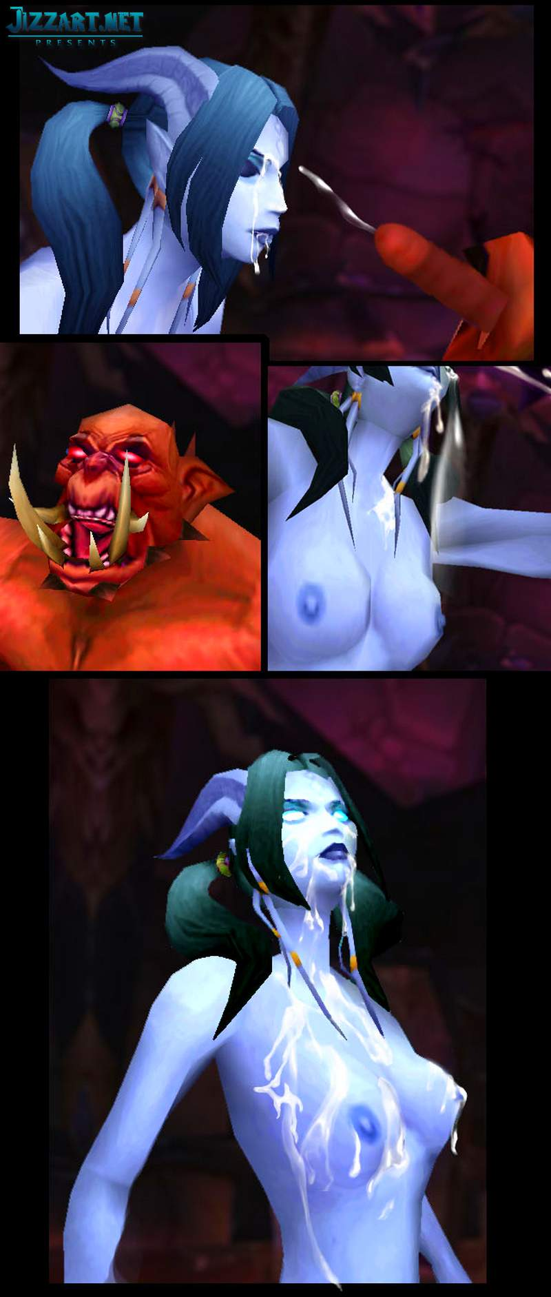 Nude nightelf strip sex image