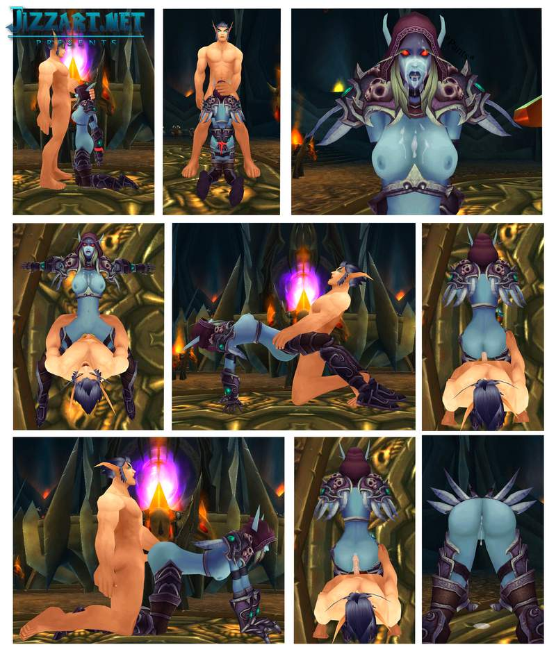 Blood elf fucks human woman porn