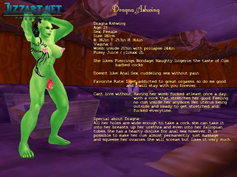 WoW night elf nude