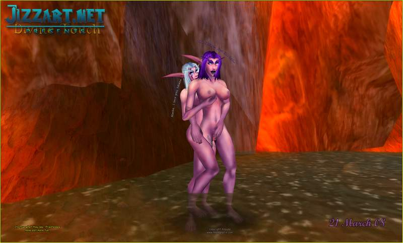 The Warcraft 3 sex mod
