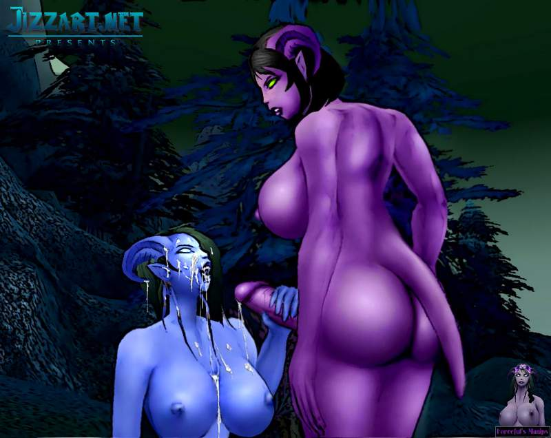 World of Warcraft lesbian sex