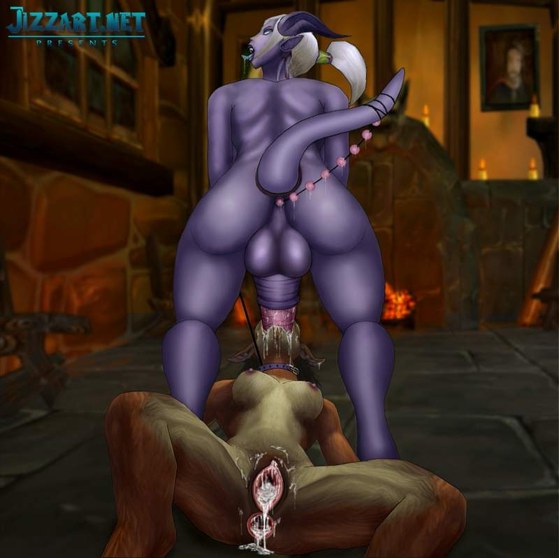 Naked night elf 3d