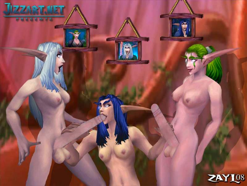 Night elf porn from lucien