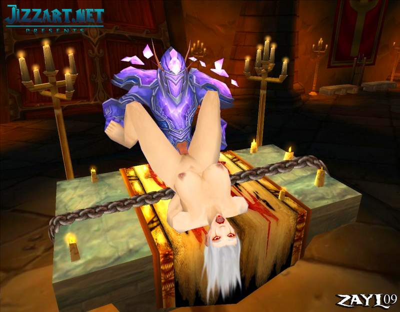 Naked night elf sex sucking