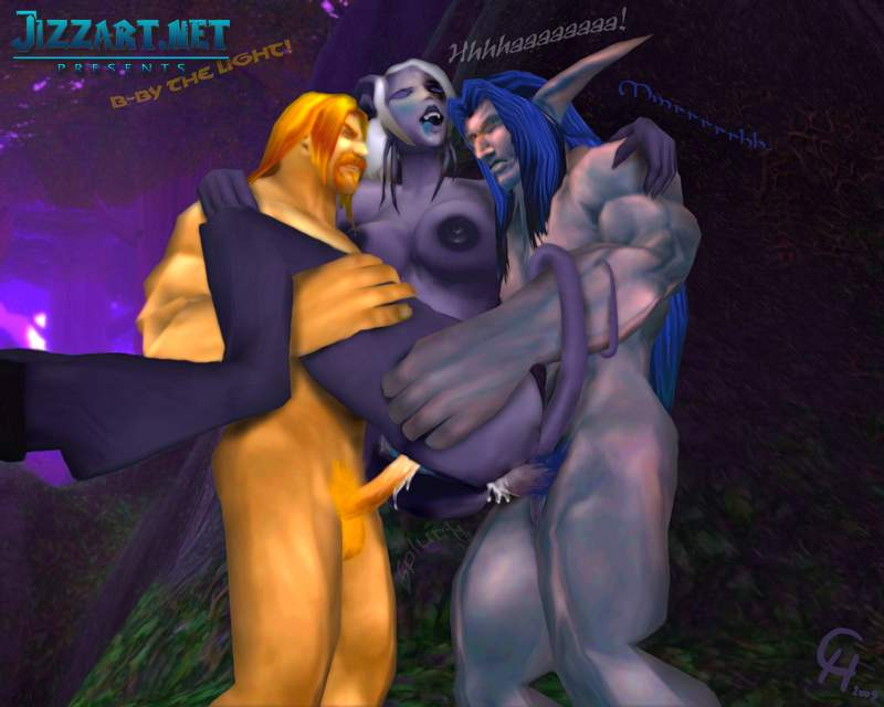 Sexy women of World of Warcraft