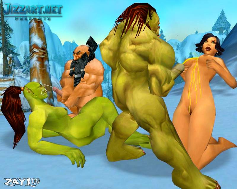 Human World of Warcraft porn master