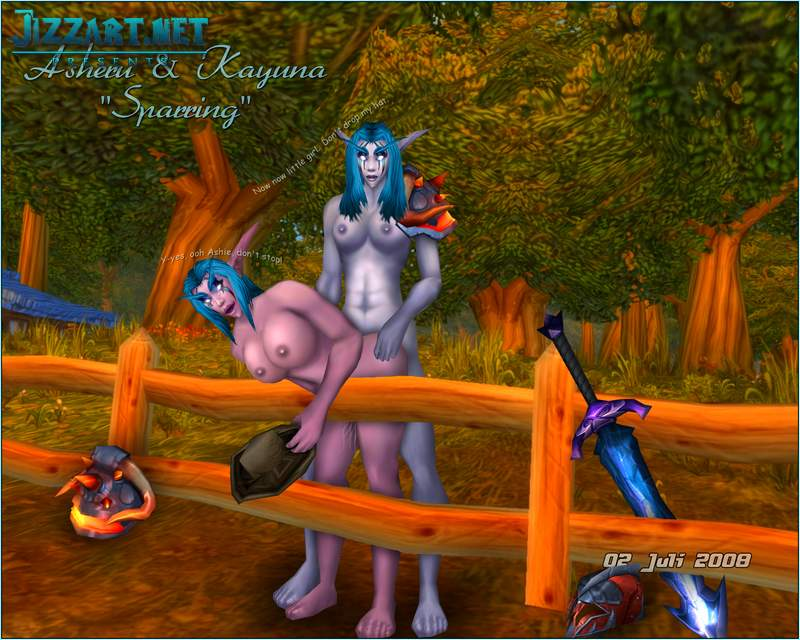 World of Warcraft cartoon porn pic
