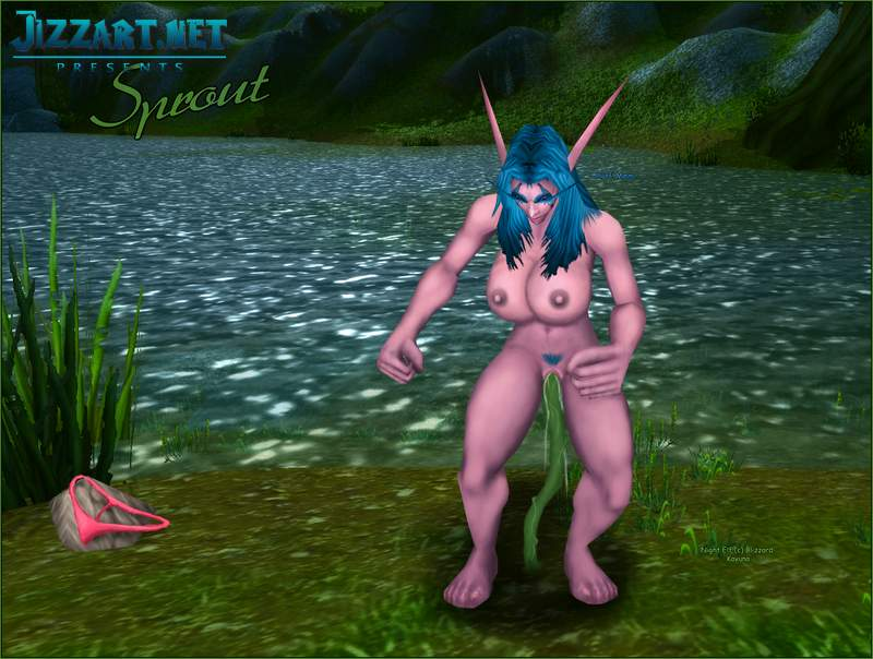 Warcraft bloodelf blowjob hentai