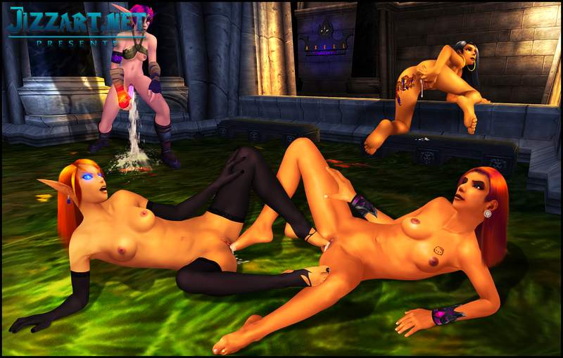 The blood elf porno
