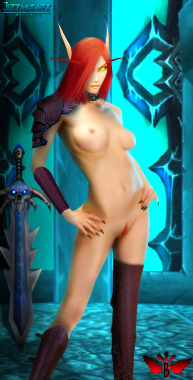 Female night elf nude walk nude dirty tits