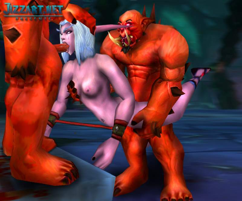 World of Warcraft nudity mod