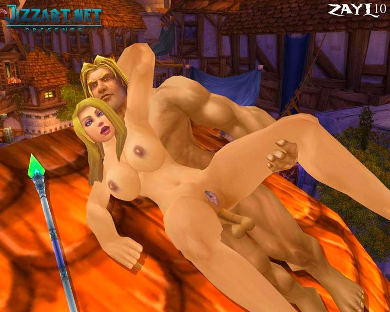 World of Warcraft nude pics