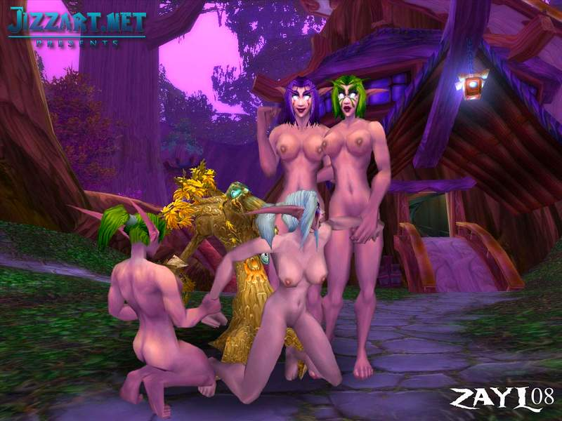 The Warcraft 3 have sex mod