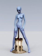 WoW female troll naked