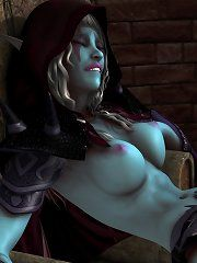 Blood elf anal