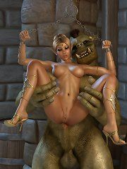 Princes elf abuse orcs