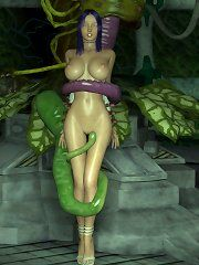 Position elf sexual amazon female woman art