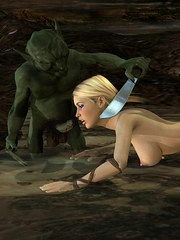 Girl Warcraft 3d