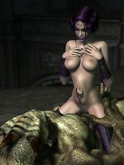 Pictures of nude night elf pussys