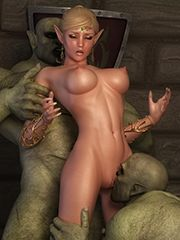 Monster sex art
