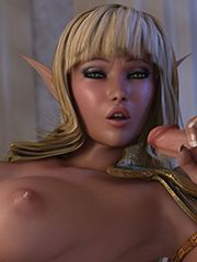 Reverse elf porn video