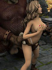 Sexy pirate girl naked
