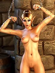 Elves girl characters nude